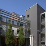Laubengang und Treppenturm Neubau 19 a – 19 b