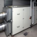 Lüftungsgerät mit Wärmerückgewinnung